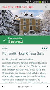 Best Swiss Hotels - screenshot thumbnail
