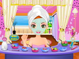 Screenshot of camouflage makeup girls games