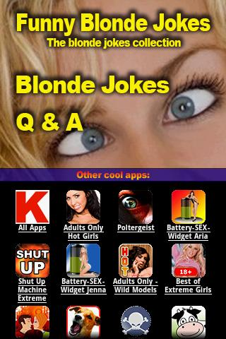 Funny Blonde Jokes android apps download   downfocus.