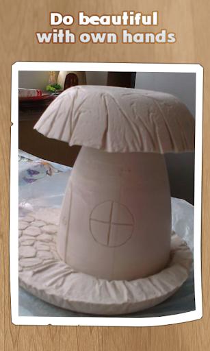 蘑菇房子。
