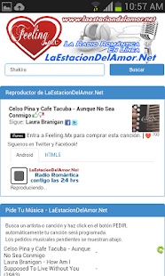 LaEstacionDelAmor.Net Radio- screenshot thumbnail