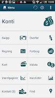 Screenshot of Salling Bank