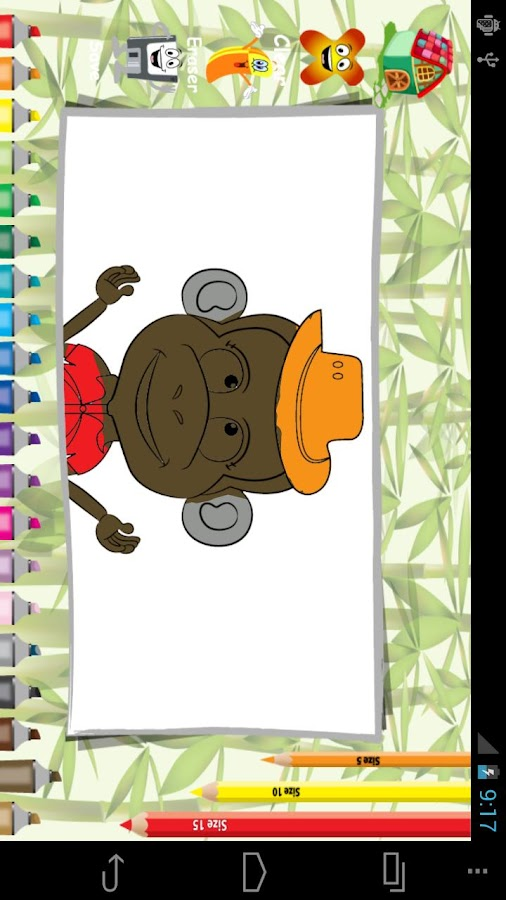 Fashion Monkey Coloring - screenshot
