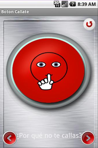 Botón Cállate