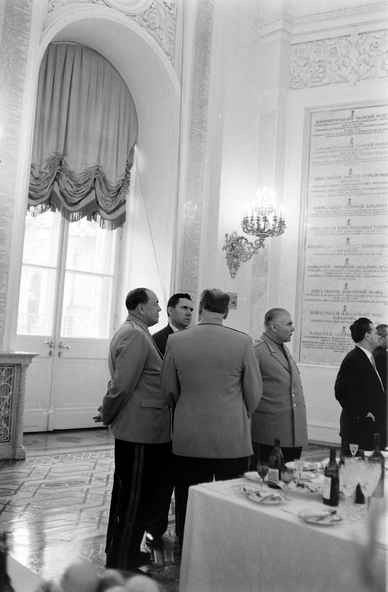 Khrushchev In The Great Hall Of The Kremlin