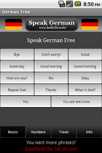 Speak German Free - screenshot thumbnail
