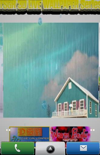Rainny Day 3D LIVE WALLPAPER