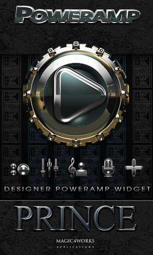 Poweramp Widget Prince