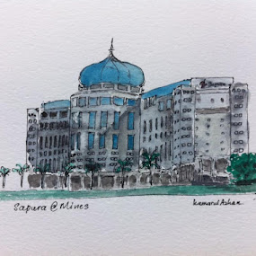 Sapura@Mines by Kamarul Azhan Nordin - Buildings & Architecture Office Buildings & Hotels ( sketch, moleskine, sapura )