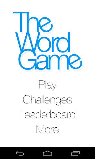 The Word Game - Free