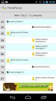 Screenshot of Live Soccer Scores