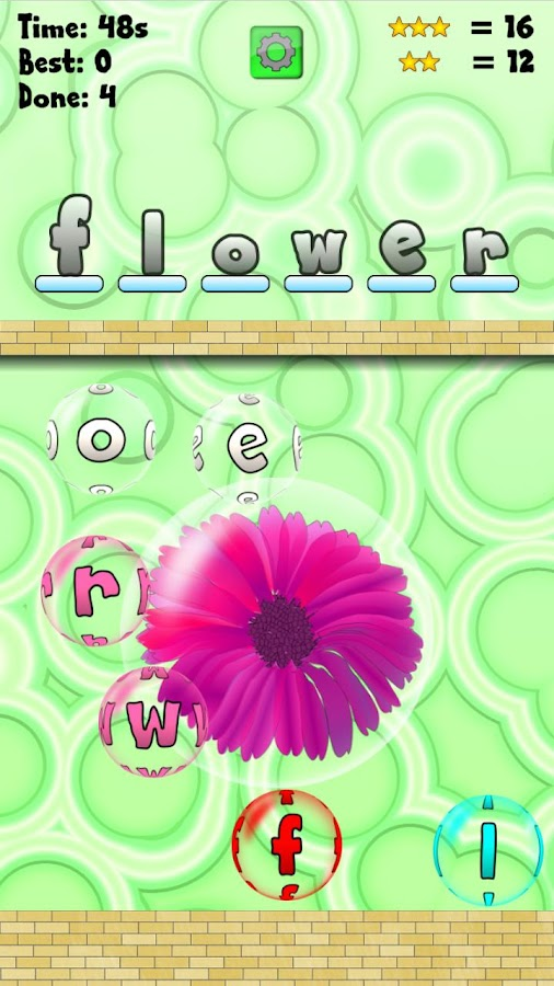 Word Pop Free- screenshot