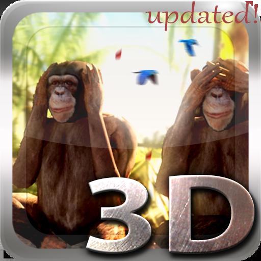 Three Wise Monkeys 3D