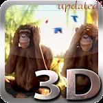 Three Wise Monkeys 3D v1.1