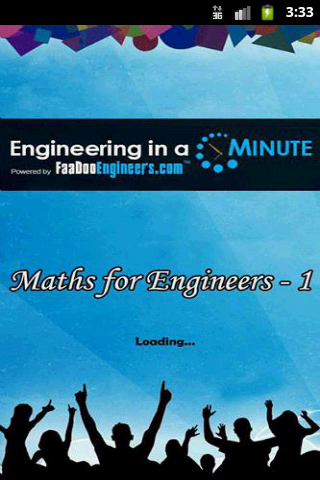 Maths for Engineers - 1 1