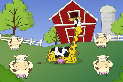 Miss Giraffe The Farmers Calf