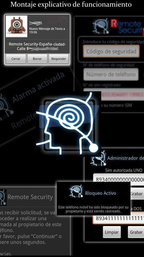 Remote Security - screenshot