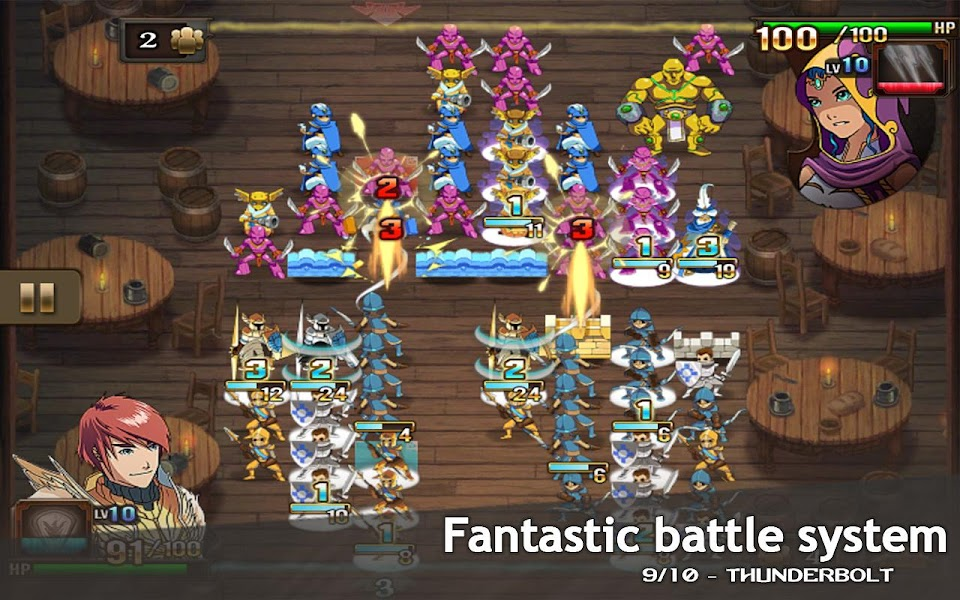 M&M Clash of Heroes Mod Apk - screenshot