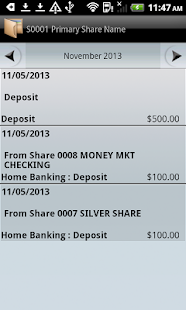 MSGCU Mobile Banking - screenshot thumbnail