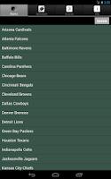 Screenshot of Pro Football Radio & Scores