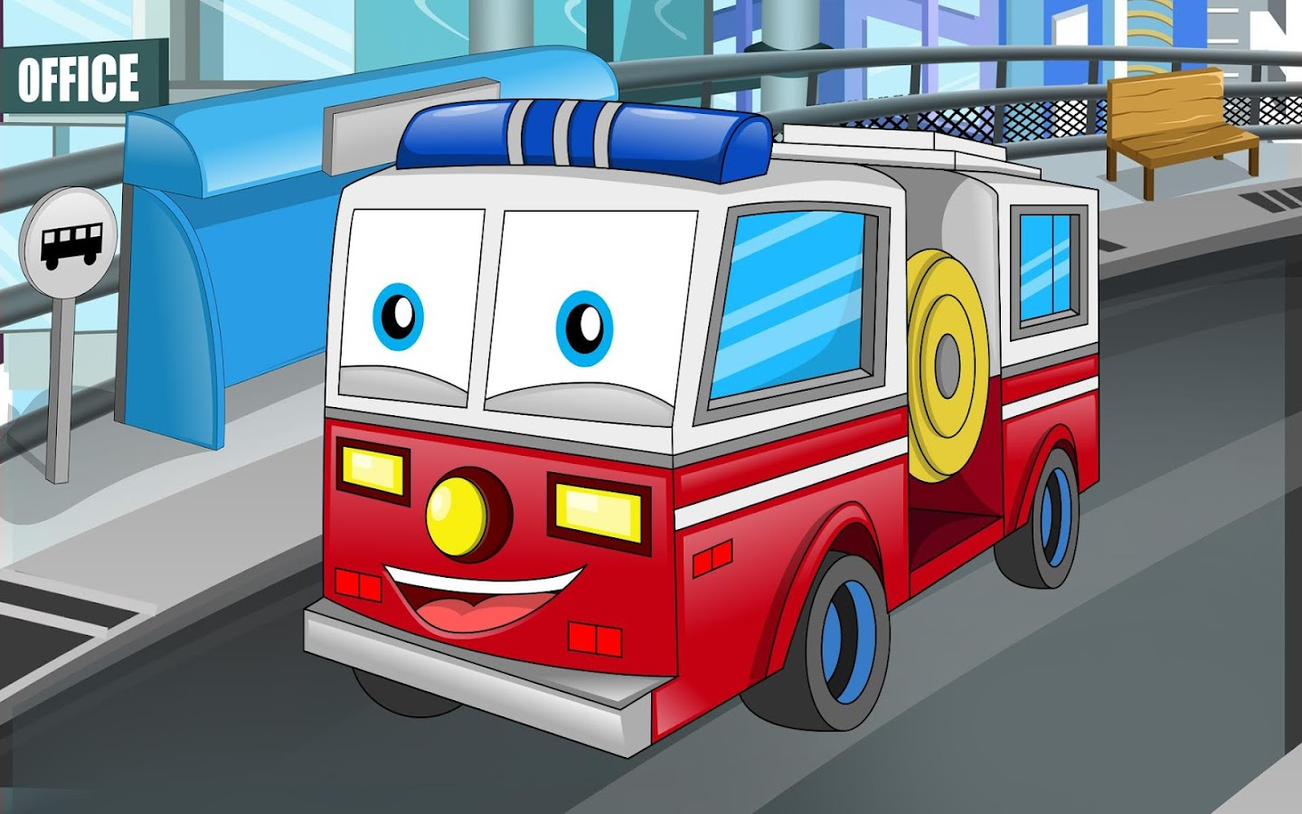 cars and trucks for kids android apps on google play