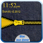 Blue Jean Zipper Go Locker
