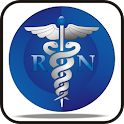 RN Symbol doo-dad blue logo
