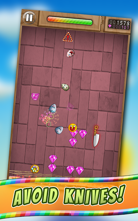 Pinball Eggs Free Game 🐣- screenshot