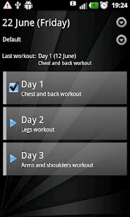 Gym Book: training notebook* - screenshot thumbnail