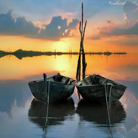 The Love Boat by Arief Wardhana - Transportation Boats
