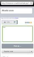 Screenshot of WiFi Chat