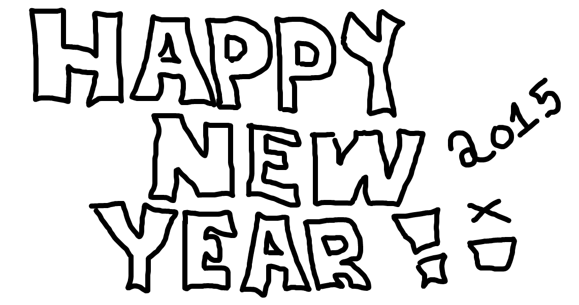 Happy New Year Drawing 82