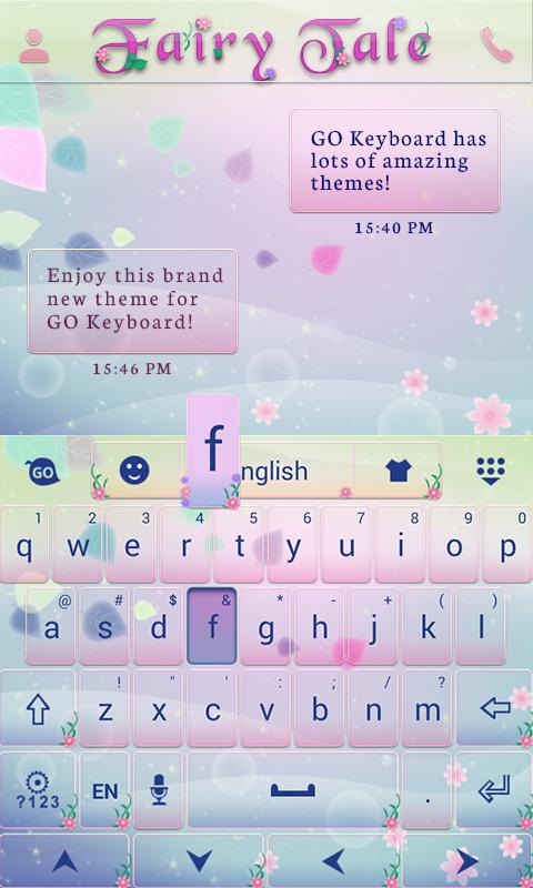 Fairy Tail Go Keyboard Theme - screenshot