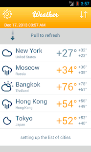 Weather Forecasts- screenshot thumbnail