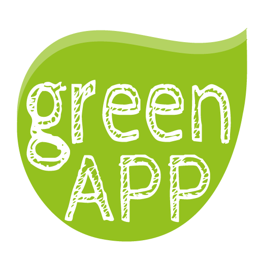 GreenApp (greenmagazine.it) LOGO-APP點子