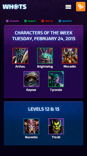 Whots for Heroes of the Storm
