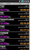 Screenshot of BikeMate GPS