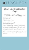 Screenshot of LunchBox - Find Free Food