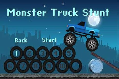 Monster Truck Stunt (Free) - screenshot thumbnail