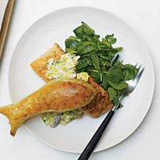 Salmon And Leeks In Puff Pastry Recipes.