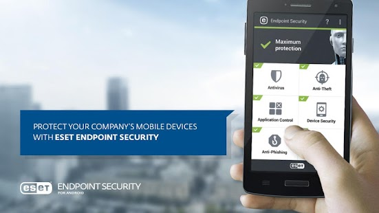 ESET Endpoint Security - náhled