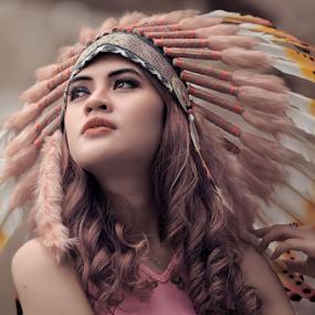 :: Widya :: by Kiagus Azhary - People Portraits of Women (  )