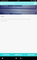 Screenshot of CocoonJS Launcher
