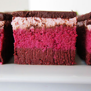 Raw Strawberry Beet Love Brownies