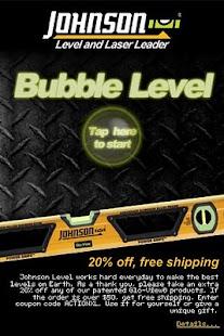 Johnson Bubble Level- screenshot thumbnail