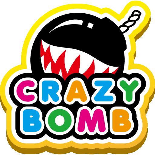 CRAZYBOMB: 繽紛colorful的趣味流行潮流品牌 LOGO-APP點子