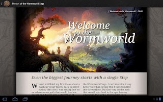 Screenshot of The Wormworld Saga