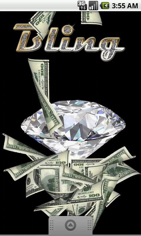 Bling money game wallpaper android apps on google play for Money in design home game
