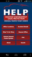 Screenshot of HELP Legal