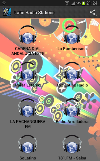 Latino Radio Stations FULL